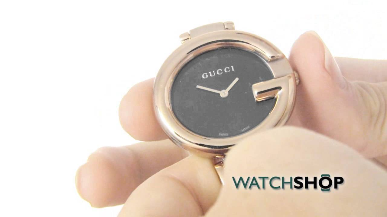 1f330d12d55 Gucci Ladies  ssima Watch (YA134305) - YouTube