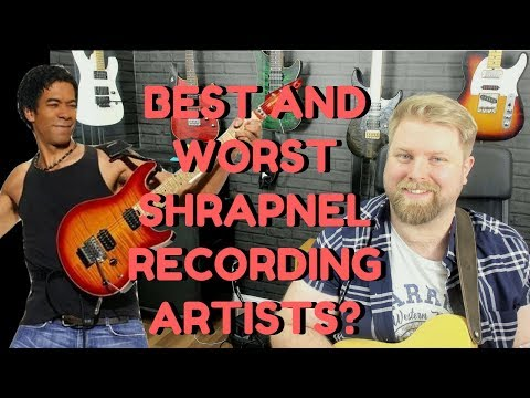 Q&A Time - Your Favourite Shrapnel Guitarists & Albums?