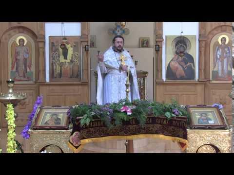 Проповедь в Великую Субботу Страстной седмицы.Священник Игорь Сильченков