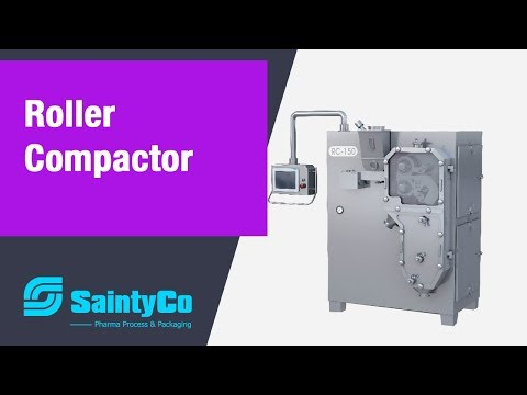 Roll Compactor for Pharmaceutical  Dry Granulation  -Saintyco