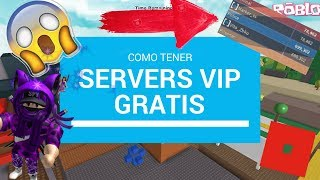 how to have free Server VIP in ROBLOX! | TRICK to have VIP Server in any game