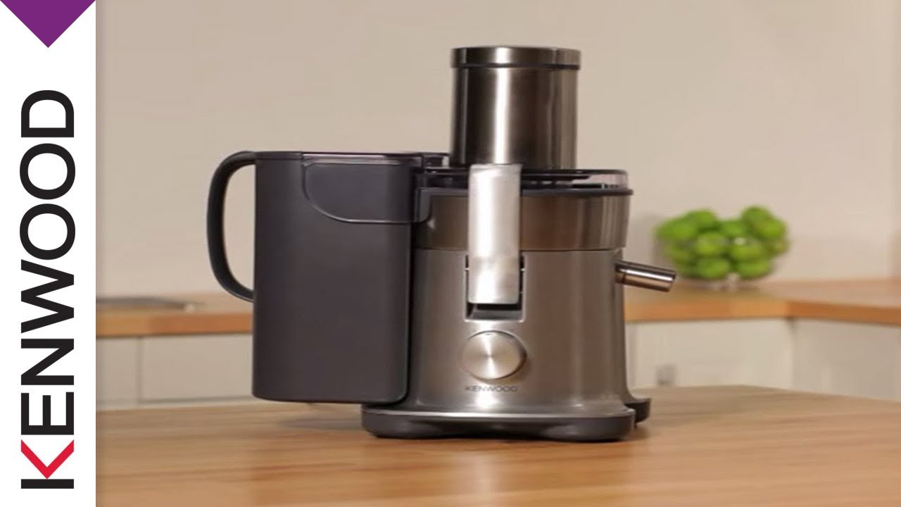 Kenwood Continuous Juicer EXCEL Introduction - YouTube