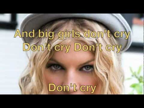 Fergie Big Girls Don't Cry with Lyrics