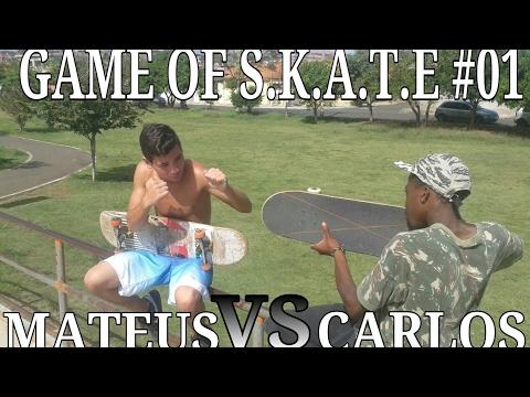 GAME OF SKATE 01 MATEUS vs CARLOS
