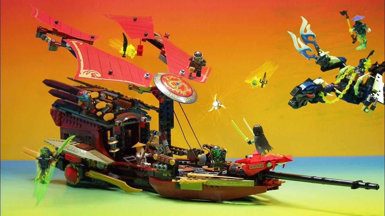 Lego Ninjago Final Flight Of Destiny S Bounty Youtube