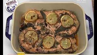Запечена червона риба - Правильний Сніданок