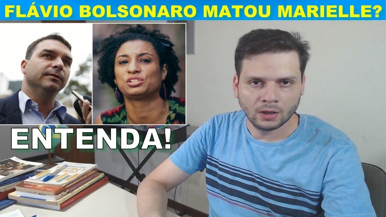 Flávio Bolsonaro mandou m.a.t.a.r Marielle? Globo em desespero.