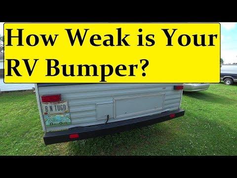 Mounting a Generator Rack on RV Bumper 😯