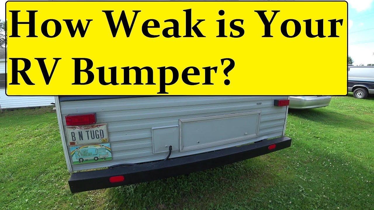 Mounting A Generator Rack On Rv Bumper �� Youtube