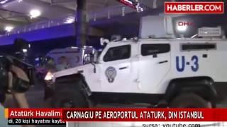 CARNAGIU PE AEROPORTUL ATATURK, DIN ISTANBUL