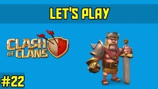 Clash of clans-let's play Ep.22-base build part2