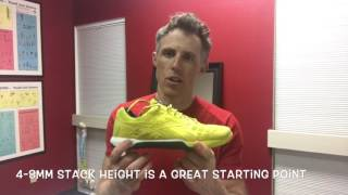 The importance of running shoe stack height and foot strength