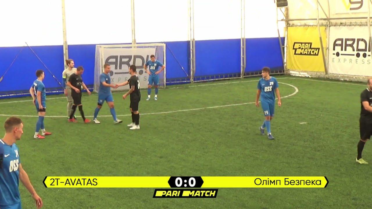 Огляд матчу   2T-AVATAS 0 : 0 Олімп Безпека   Parimatch League 2021