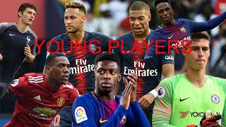 FIFA 18 BEST YOUNG PLAYERS SQUAD BUILDER