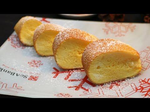 Cách Làm Bánh Bông Lan Bằng Chảo cực đơn giản |Trứng Bọt Biển Bồng Bềnh Siêu Mịn