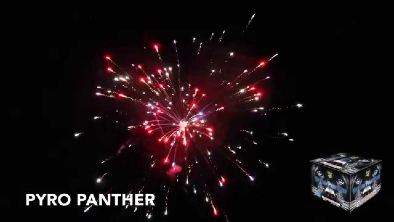 PYRO PANTHER - 500 GRAM CAKE - WORLD CLASS FIREWORKS - YouTube