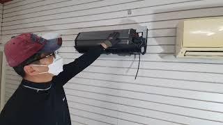 엘지벽걸이 에어컨 분해청소 방법