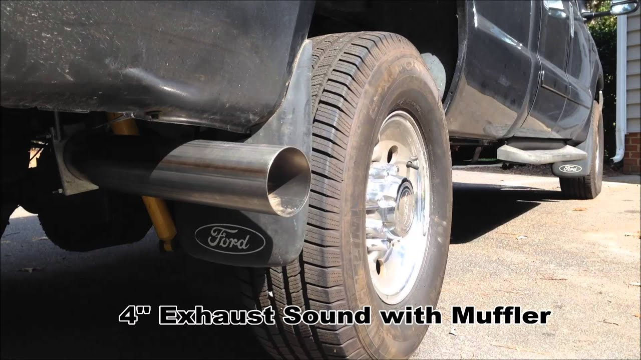 Diamond Eye 4 Quot Exhaust With Muffler Install Before