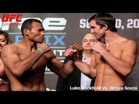 Luke Rockhold vs Jacare Souza rematch headlines UFC Fight Night in Melbourne on Nov. 26