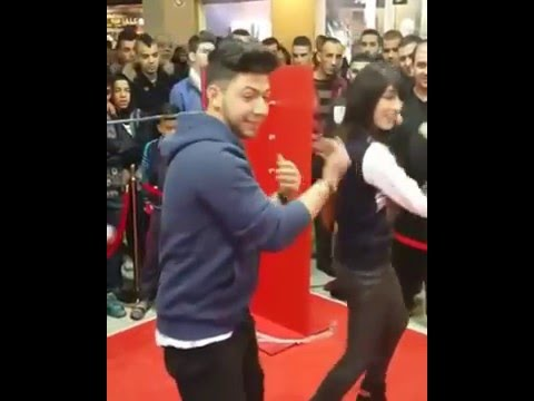 Souhila Ben Lachhab and BMD dance togther رقص سهيلة بن لشهب و BMD part1