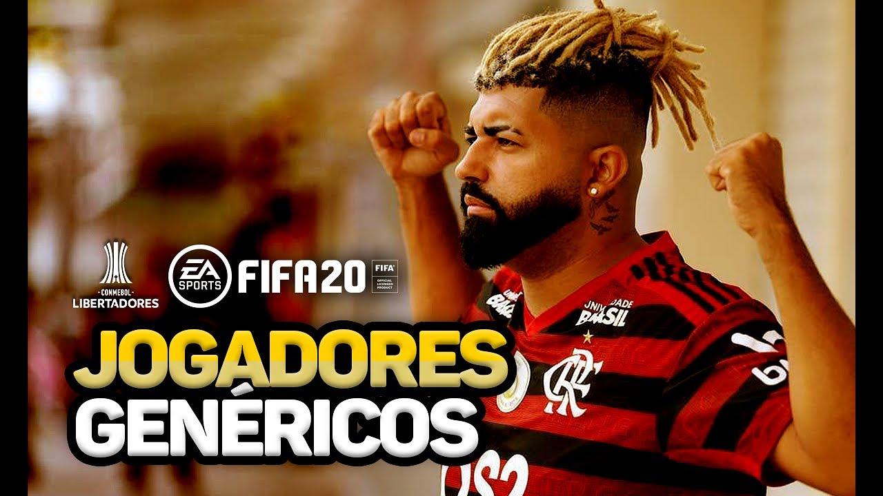 TIMES BRASILEIROS NA LIBERTADORES DO FIFA 20