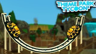 Le ROCKING DISK Ride dans Theme Park Tycoon 2!! (Roblox)