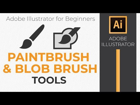 How To Use The Paintbrush And Blob Brush Tools In Illustrator CC