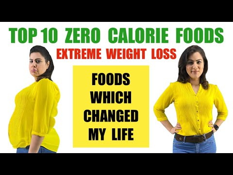 Zero Calorie Foods For Weight loss | Negative Calorie Foods | Best Zero Calorie Diet to Lose Weight