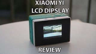 Finally! An LCD screen for Xiaomi YI + 2400mah external battery SupTig, Pannovo