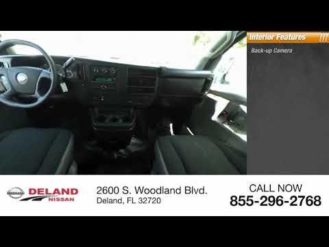 2018 Chevrolet Express Cargo Van DeLand Nissan P9408