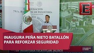 EPN encabeza inauguración de la unidad habitacional militar en Jalisco