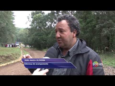 MST ocupa floresta nacional de Chapecó