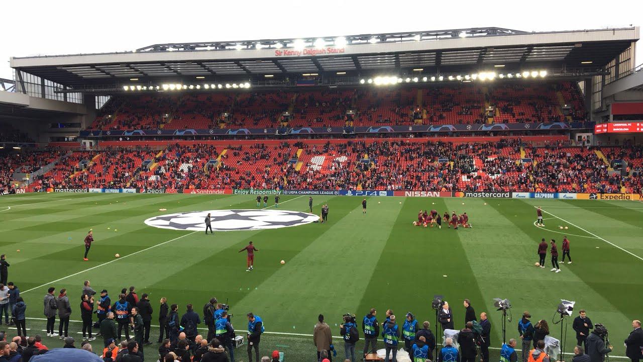 Champions League semi-final: Liverpool v Barcelona