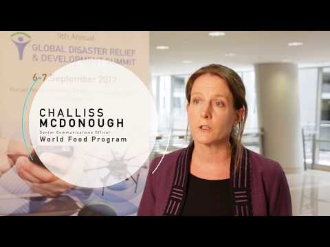 Global Disaster Relief and Development Summit 2017 - Interview with Challiss McDonough, WFP