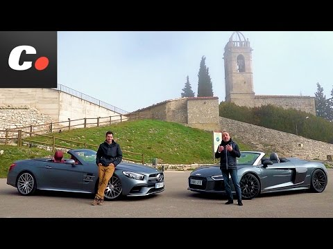 Audi R8 Spyder vs Mercedes-AMG SL 63 | Comparativa | Prueba / Test / Review en español | Coches.net