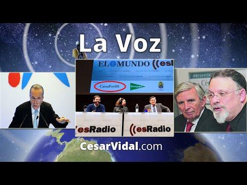 Cesar Vidal y Roberto Centeno desenmascaran a Losantos por sus contratos publicitarios con La Caixa