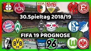 30.Spieltag - Alle Highlights und Tore - Bundesliga Prognose I FIFA 19 I 2018/19 Deutsch [FULL HD]