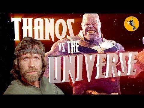 Avengers Endgame Trailer - Chuck Norris vs Thanos - Rough Cut