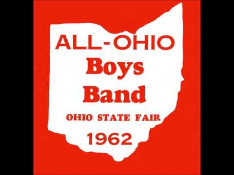 """1962 All-Ohio Boys Band """"Stars and Stripes Forever"""""""