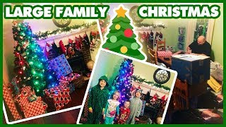 Gambar cover Large Family Christmas & Christmas Budget Breakdown | What We Got Our 8 Kids For Christmas 2017