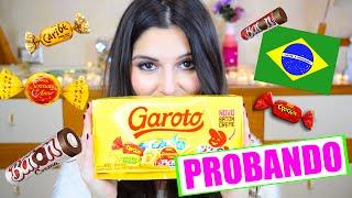 PROBANDO CHOCOLATES BRASILEROS! GAROTO (Argentina) | STEPHT thumbnail