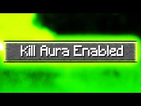 Accidentally Using Kill Aura? (Minecraft PvP w/ Huahwi)