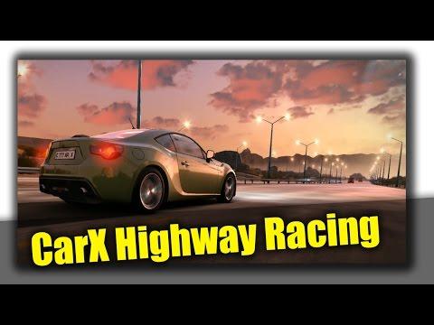 Обзор игры CarX Highway Racing - новые красивые гоночки