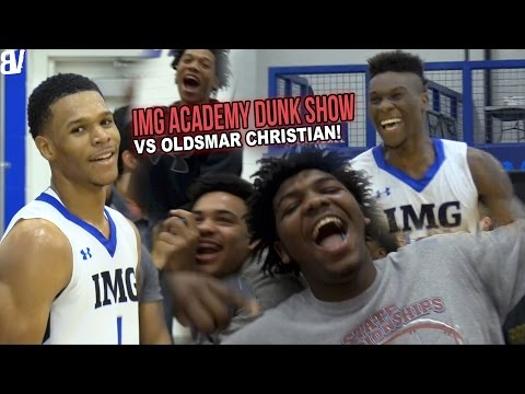 #1 Team In Florida is OP! IMG Academy DUNKFEST VS Oldsmar Christian! | FULL HIGHLIGHTS