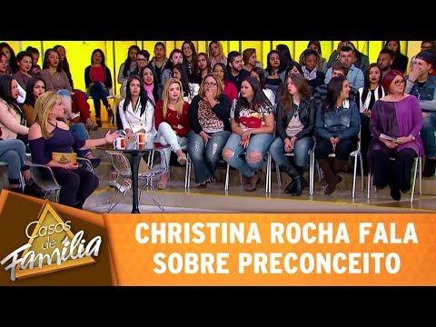 Casos de Família (02/08/17) - Christina Rocha fala sobre preconceito