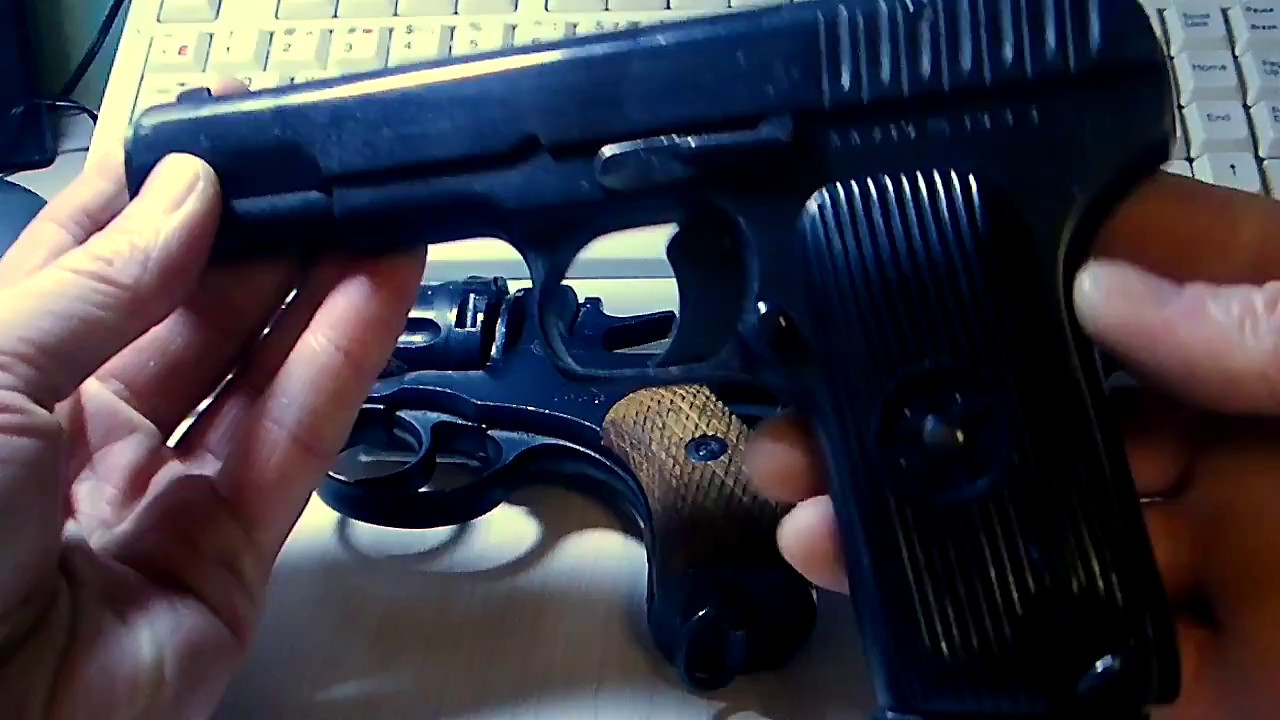 Обзор пневматического пистолета Gletcher TT GBB / пневматический .