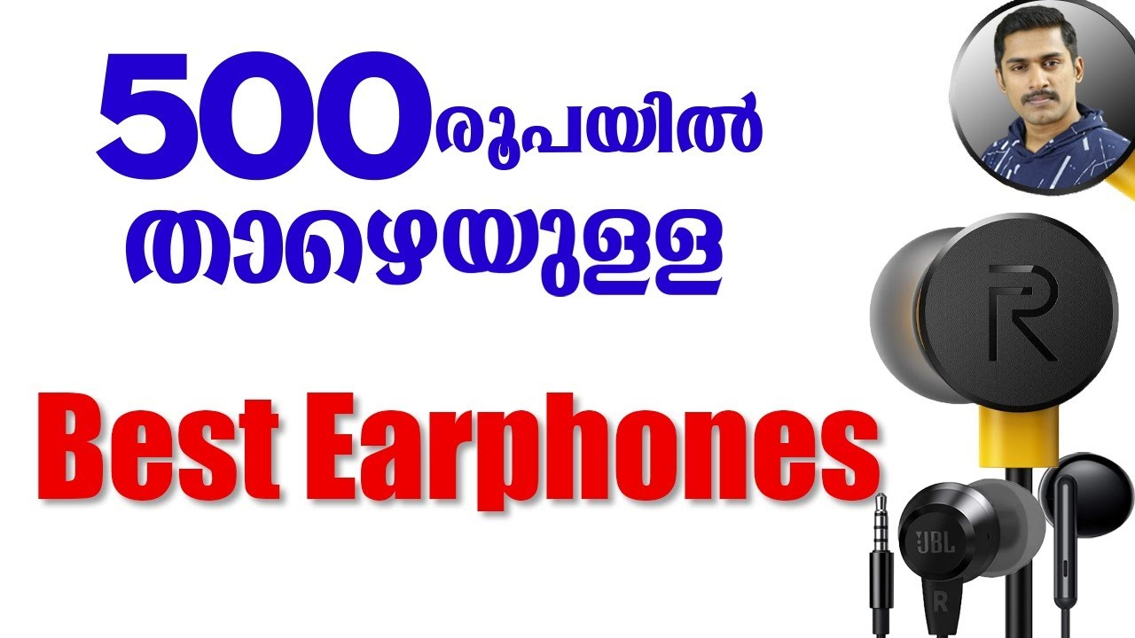 Top 4 best Earphones under 500 Malayalam