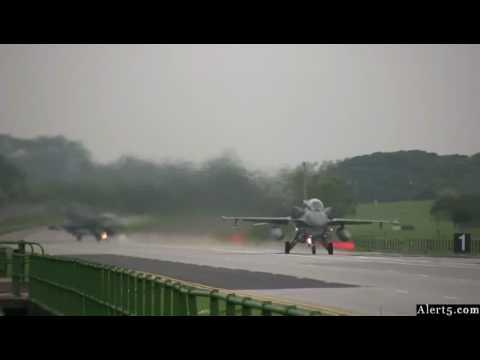 RSAF Exercise Torrent 2008 - F-16D Blk 52+