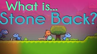 What is... STONE BACK   DINOSAUR INDIE GAMEPLAY