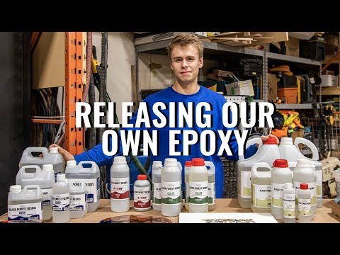 Releasing Our Own Brand of Epoxy Resin
